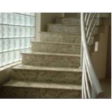 orçamento para escada de pedra mármore Limão