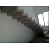 orçamento para escada edifício residencial Água Chata
