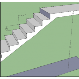 orçamento para escada entrada residencial Vila Gustavo
