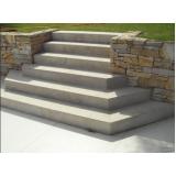 orçamento para escada exterior Cantareira