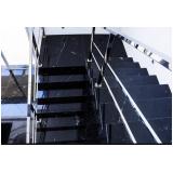 orçamento para escada residencial granito CECAP