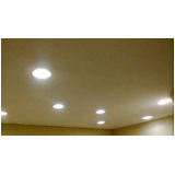 orçamento para instalação de luminária led Maia