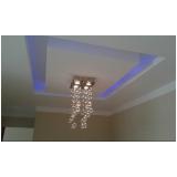 orçamento para instalação luminária teto Parque Peruche