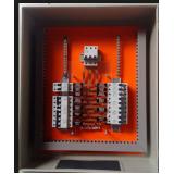 orçamento para montagem de quadro elétrico com barramento Água Chata