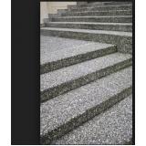 orçar escada de pedra Bixiga