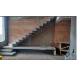 orçar escada entrada residencial externa Água Chata