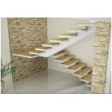 orçar escada entrada residencial Jardim Fortaleza