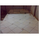 serviço de colocação de piso na diagonal Parque São Domingos