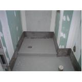 serviço de impermeabilização de banheiro Vila Gustavo