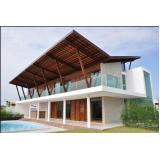 telhado para área externa Casa Verde