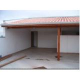 telhado para garagem Vila Maria