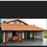 telhado para área gourmet