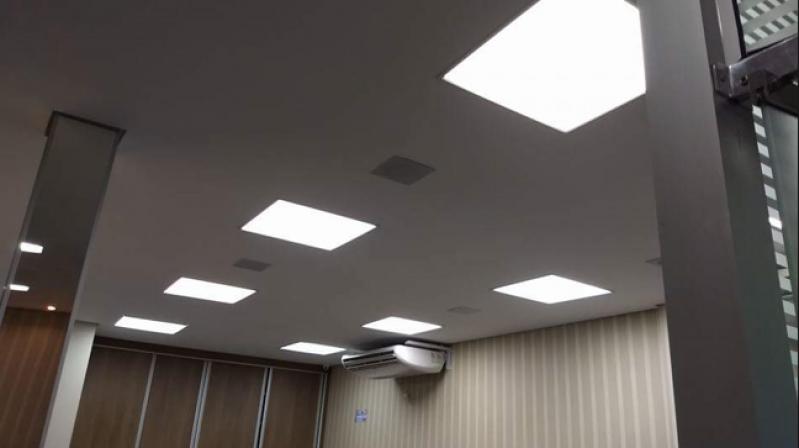 Valor de Instalação de Luminárias em Gesso Glicério - Instalação de Luminária de Led